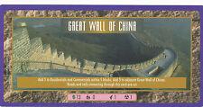Sim City The Card Game CCG/TCG, DoubleLength Ultra-Rare Great Wall of China card
