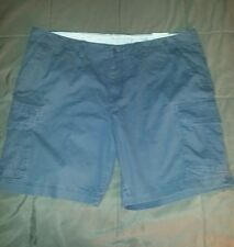 Sonoma Mens Big & Tall Cargo Shorts Size 48 Waist Rock Wall Gray 100% Cotton NWT
