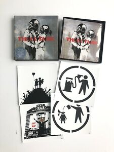Blur Think Tank Special edition 2 CD with Banksy art and postcards Sealed