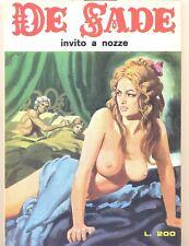 DE SADE N. 17 - elvipress - 1972 - Ottimo