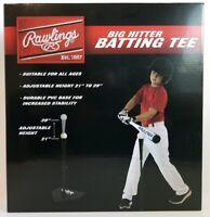 New Rawlings Big Hitter Adjustable Batting Tee