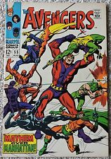 The Avengers 55 1st Appearance of Ultron Marvel VF-