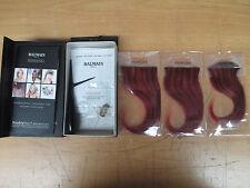 Balmain Paris Double Hair Volume Colour 15cm extension 3pcs Chili Red/Aubergine