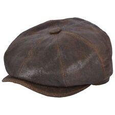 Chapeaux marron gavroches pour homme