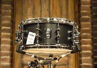 Sonor SQ1 GT Black 6.5x14 Birch Snare Drum! - New!