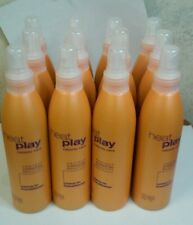 Heat Play Leave-in Conditioner lot 12 (case) Hair salon Styling 8 oz Spray