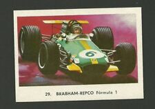 Brabham Repco Formula 1 Racecar Vintage Car Collector Trading Card from Spain