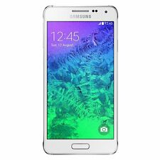 Excellent - Samsung Galaxy Alpha G850A 32GB White AT&T Unlocked T-Mobile Android
