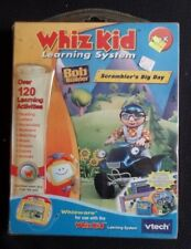 Whiz Kid Learning System Bob the Builder Scrambler's Big Day NIP Whizware
