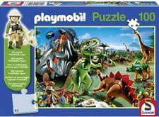 Schmidt Playmobil 100 Piece Puzzle of Dinosaurs