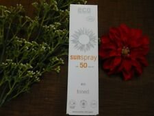 (23,00€/100ml) Eco Cosmetics Sun Spray getönt Q10 LSF 50 100ml