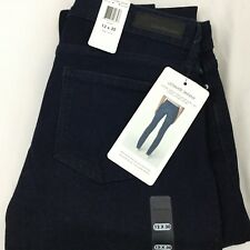 Calvin Klein Ultimate Skinny Low Rise Dark Wash Blue Jeans Size 12 x 30 NWT