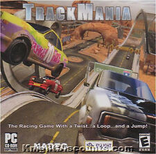 TRACKMANIA Track Mania Racing Sim PC Game NEW Windows