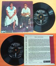 LP 45 7'' ELLA FITZGERALD LOUIS ARMSTRONG VOL.4 A foggy day no cd mc dvd vhs