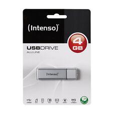SUPERBE CLE USB HAUT DE GAMME FINITION ALUMINIUM 4go Intenso / en alu 4 go 4gb