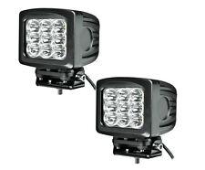 """5 X 6"""" 90W CREE LED Work Light Spot CUBE POD Square 4WD Jeep JK JKU TJ YJ (Pair)"""