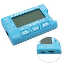 Digital Battery Capacity Voltage Checker Meter LiPo Li lon NiMH RC CellMeter