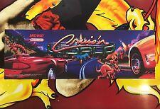 Cruis'n World Arcade Marquee Midway Translight Header Sign Cruisin Cruising The