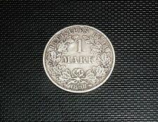 1 Mark 1898 A Deutsches Reich Silber großer Adler