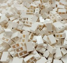 LEGO BRICKS 100 x WHITE 2x1 Pin  From Brand New Sets Sent In a Sealed Bag