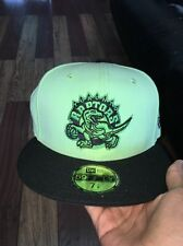 Toronto Raptors Fitted Hat Size 7 1/8
