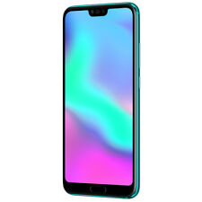 "New Huawei Honor 10 Phantom Green 5.84"" 128GB Dual Sim 4G LTE Android 8 Sim Free"