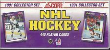 Score 1991-92 NHL Hockey Collector Trading Card Set NIB