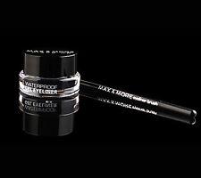 Gel Eyeliner mit Pinsel wasserfest in schwarz oder braun
