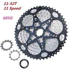 VG Sports 11-52T 11 Speed Bicycle Freewheel MTB Mountain Bike Cassette Cogs 685g