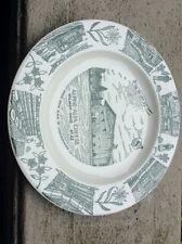 "1960's Alpine Alpa Cheese Wilmot Ohio Kettlesprings Kiln 10"" Commemorative Plate"
