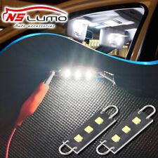 2x Super White 44mm CREE Rigid Loop Festoon LED Light Bulb 561 562 567 564 212-2