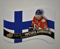 2020-21 UD Series 1 NHL Worldwide Die Cut #WW-27 Aleksander Barkov