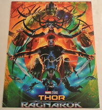 Thor Ragnarok Avengers Marvel CAST SIGNED BY 4 Autographed Photograph Autograph