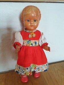 Alte Cellba Puppe Gretchen 29cm sehr selten
