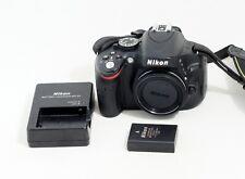 Nikon D D5100 16.2MP Digital SLR Camera Black Body ONLY 7K SHUTTER COUNT