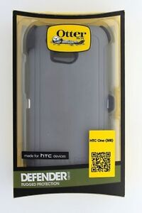OtterBox Defender Series Case for HTC One M8 - Retail Packaging - Glacier