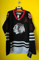 CHICAGO BLACKHAWKS  #2 DUNCAN KEITH  REEBOK NHL JERSEY MENS- 54