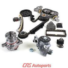 99-06 Suzuki Chevy 2.5L 2.7L Engine Timing Chain Kit Water & Oil Pump H25A H27A