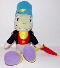 Jiminy Cricket Plush Pinocchio 11in Disney Stuffed Animal Umbrella Top Hat