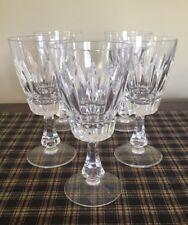Vileroy Boch Tiara Set Of 5 Water Goblets. Excellent Condition