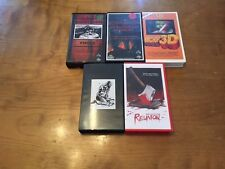 Obscure Horror Lot 7 (5 Movies) VHS's*Rare*OOP*Hard to Find*Porkchop 3D*
