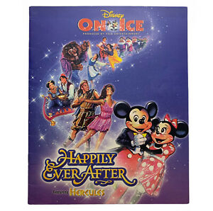 DISNEY ON ICE HAPPILY EVER AFTER, FEATURING HERCULES, 1998 PROGRAM