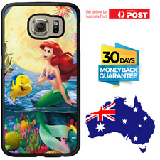 Galaxy Note 8 S8 S7 S6 Edge Plus Rubber Case Disney Ariel Moon For Girls Samsung