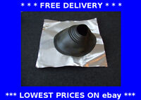 76-203mm residential roof lead flashing slate tile roof ducting flue pipe black