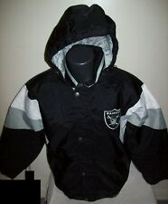 OAKLAND/VEGAS RAIDERS STARTER Hooded Jacket  S, M, L, XL, 2X