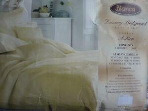 "BIANCA - LUXURY BEDSPREAD - ""ASHTON DESIGN"" DOUBLE BED"