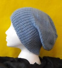 KNITTING PATTERN INSTRUCTIONS-CHUNKY SLOUCH BIG BEANIE HAT  KNITTING PATTERN