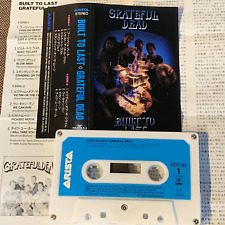GRATEFUL DEAD Built To Last JAPAN CASSETTE TAPE w/PS+Insert A27T-93 1989 issue