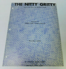 The Nitty Gritty Shirley Ellis Lincoln Chase Sheet Music 4 pages 1963