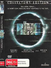The Ring-2002-Naomi Watts-Collectors Edition- Movie-DVD